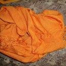 chusta pomarańczowa
