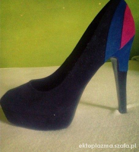 black&blue&pink
