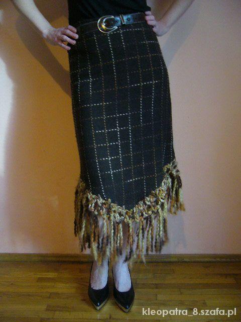 Spódnice Ciepła spódniczka na zimę 38