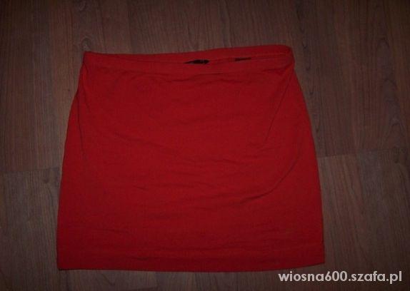 Spódnice h&m spódniczka czerwona