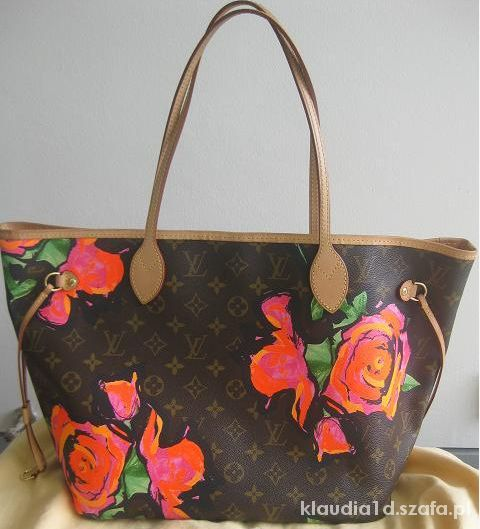 louis vuitton neverfull roses...