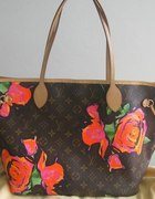 louis vuitton neverfull roses