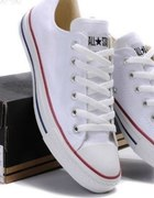Converse niskie białe...