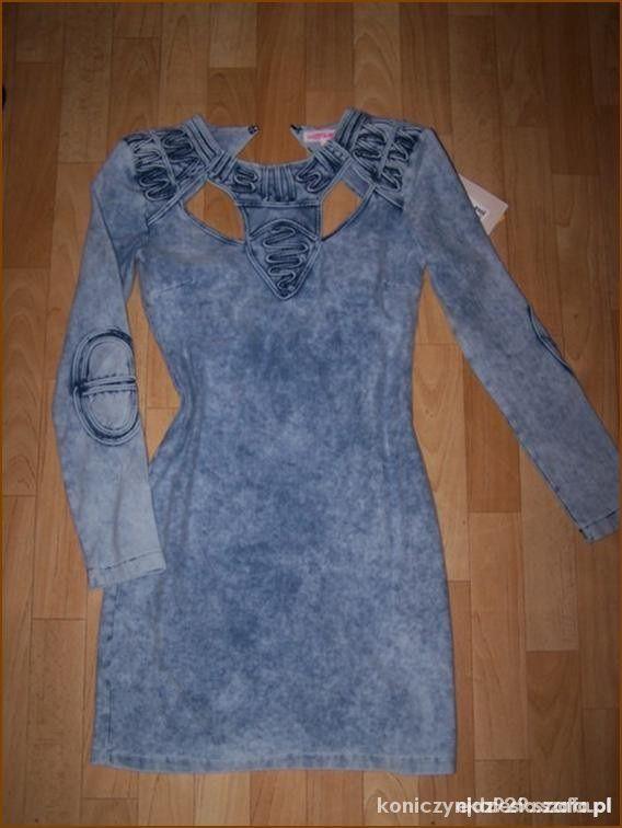 00a286d850 Hm jeansowa AIDS dress deynn sukienka w Ubrania - Szafa.pl