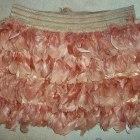 Nowa spódniczka z piórami STRADIVARIUS