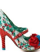 zwariowane folkowe buty Irregular Choice...