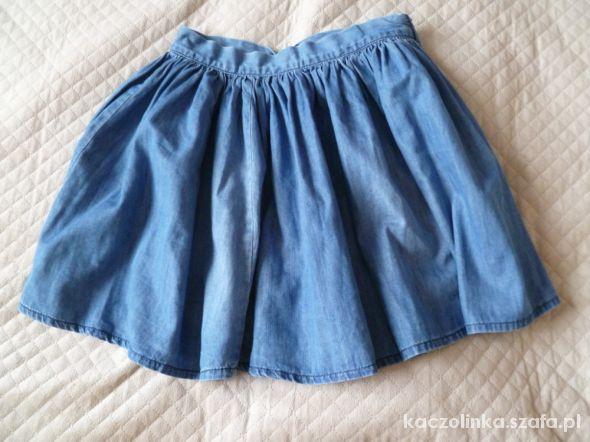Spódnice Jeansowa mini spódnica z koła
