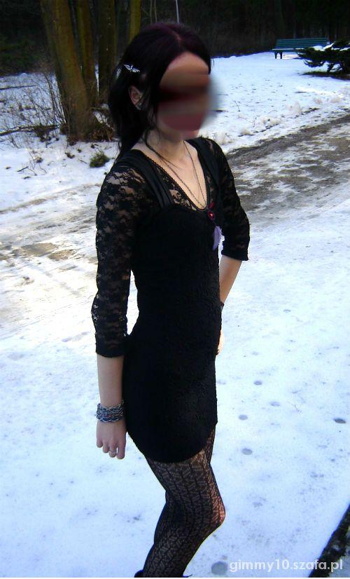 Mój styl Moje ulubione mała czarna koronka