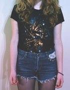Bluzeczka Galaxy i szorty...