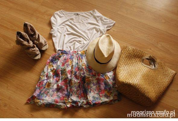 Spódnice Spódnica floral