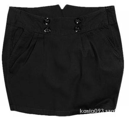Spódnice Czarna spódniczka XL