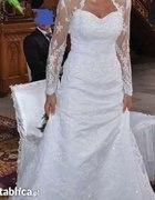 Jak Nowa Suknia Ślubna koronkowa