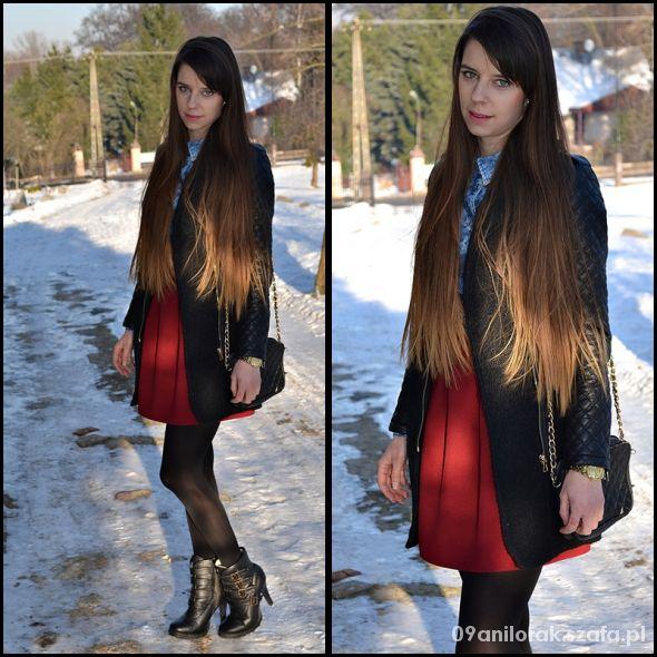 Blogerek Bordo & Jeans