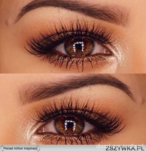 Makijaż Ciemnych Oczu W Oczy Szafapl