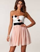 sukienka asos rozkloszowana