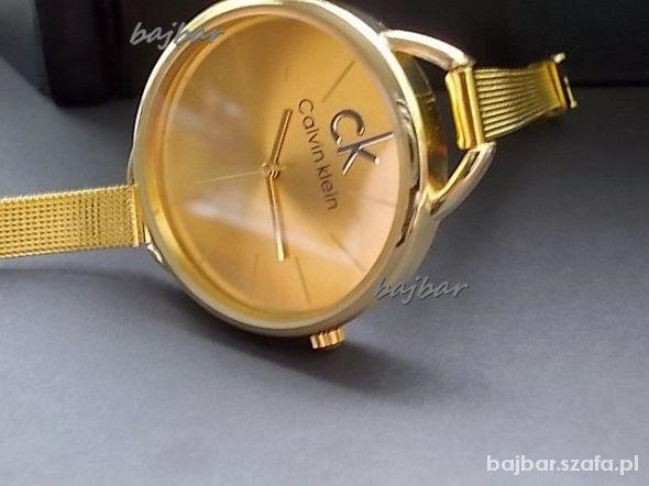 Zegarki Złoty zagarek CK