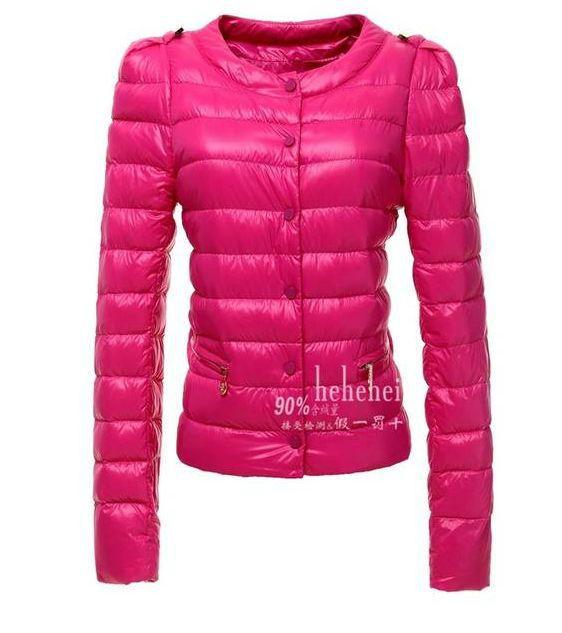 Różowa wiosenna pikowana kurtka