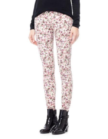 pilnie poszukuje spodni w kwiaty stradivarius