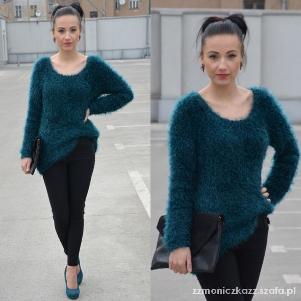 Blogerek dark turquoise