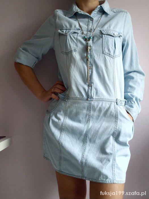 sukienka tunika koszula jeansowa atmosphere denim...