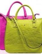 batycki limonkowa torebka avon...