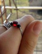 Druciana biżuteria pierścionek