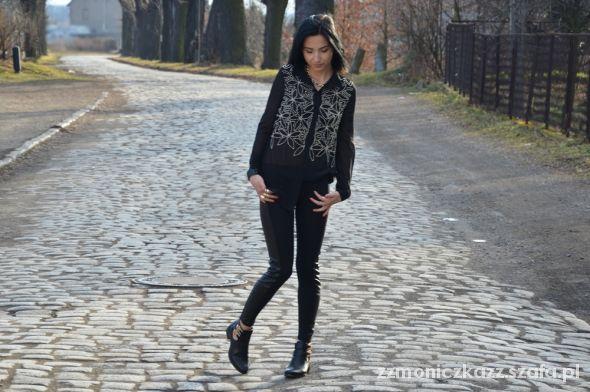 Blogerek black & gold