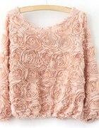 Bluza 3d róże
