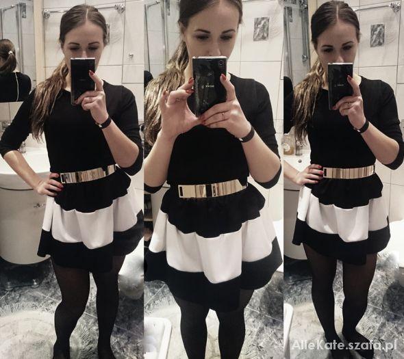 Imprezowe Black dress