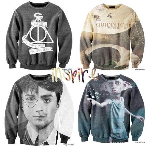 Ubrania Bluza z motywem z Harrego Pottera