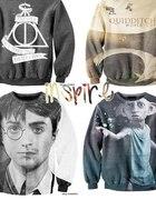 Bluza z motywem z Harrego Pottera