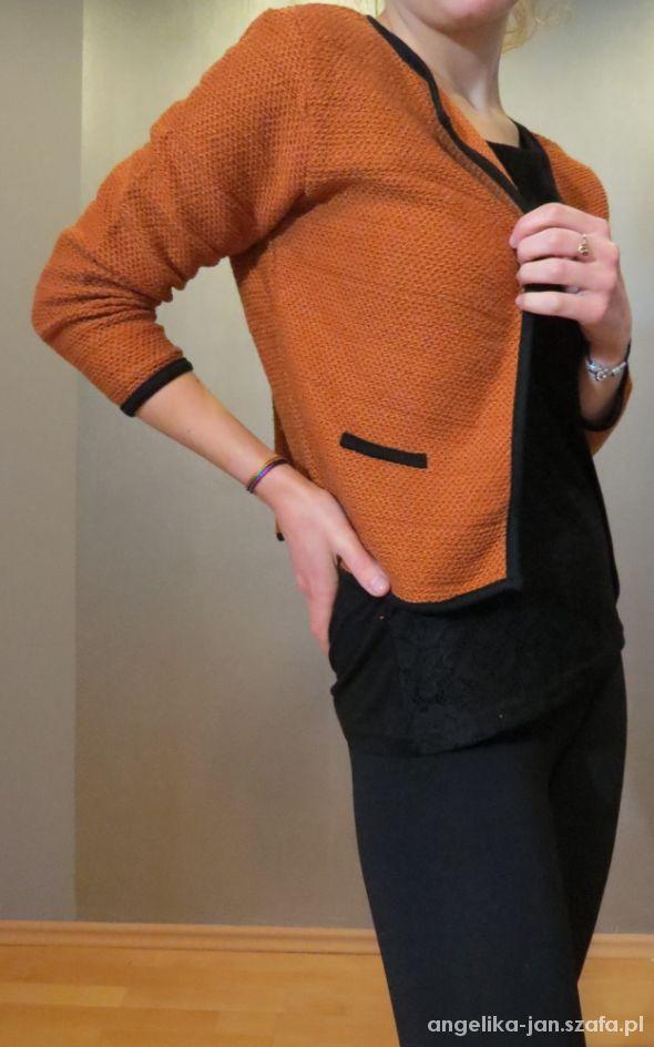 Eleganckie Koronkowa bluzka chanelka