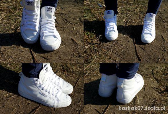 Sportowe Białe sneakersy Adidas