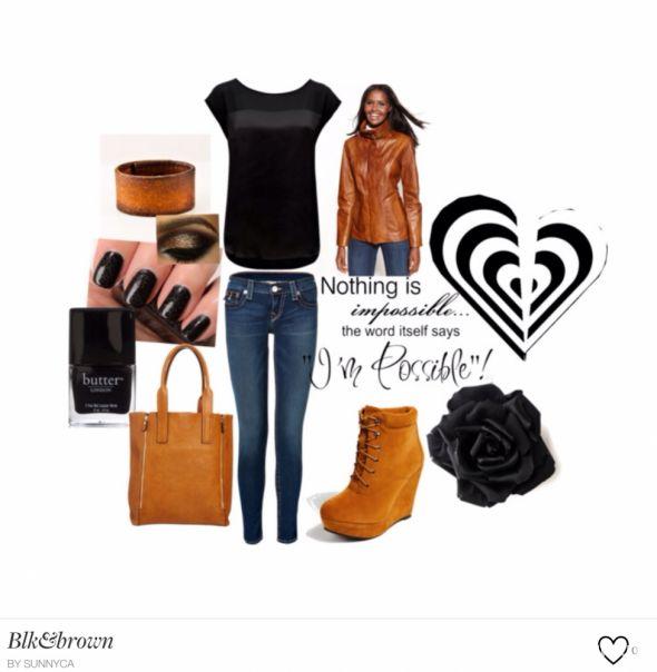 Mój styl Blk & Brown