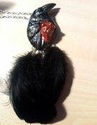 Wisior kruk serce Wild Orchid...