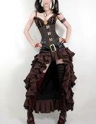 Steampunk Couture VEX Skirt...