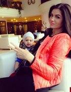 Śliczna mama z synkiem
