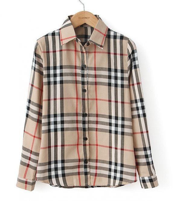 NOWA Koszula krata Burberry rozm L XL kratka w Koszule  rKMXy