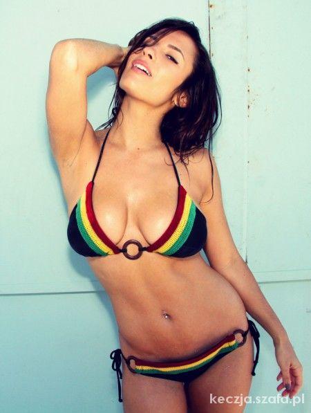 Rasta bikini...