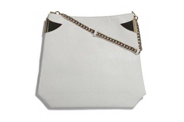 Piękna duża biała torba Mohito