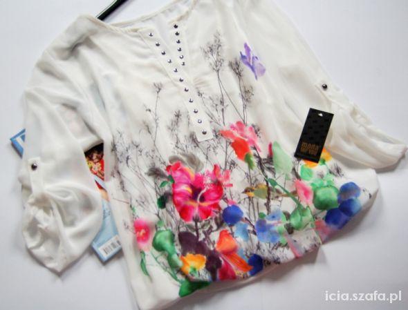 Kwiatowa bluzka