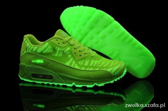 Nike air max GLOW IN THE DARK 38