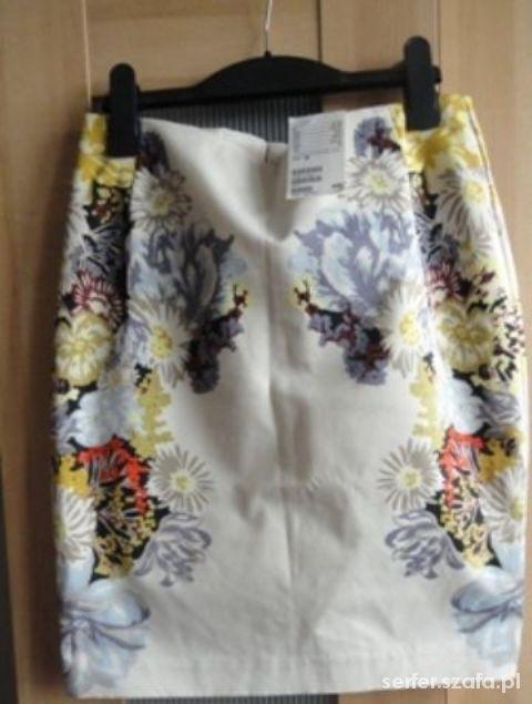 Spódnice nowa FLORAL hm ołówkowa HIT