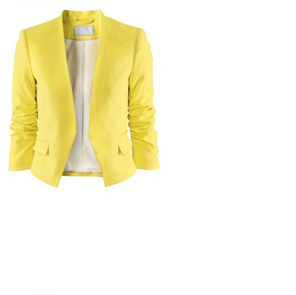 Marynarka H&M żółta