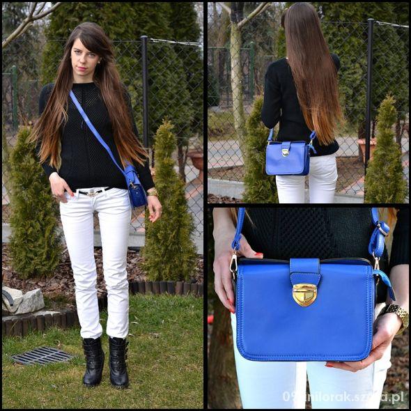 Blogerek Cobalt bag