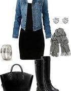 jeansowa kurteczka wiosenna