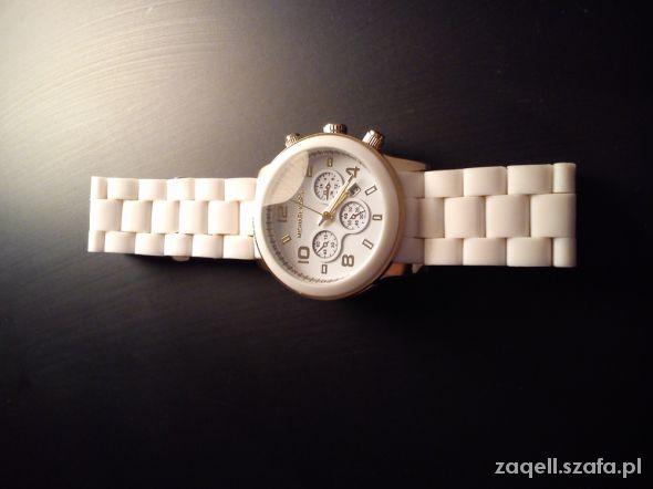 Zegarek Michael Kors white & gold