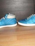 Poszukiwane buty CROPP CHILLIN niebieskie zielone...