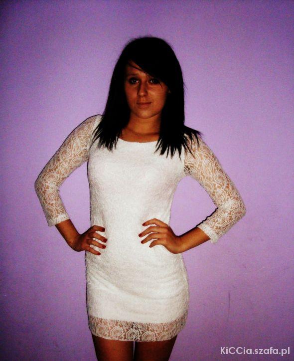 Sexi Sukienka Biała