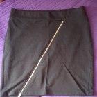 Spódniczka czarna L XL elastyczna z suwaczkiem